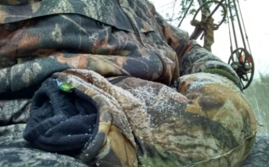 staying warm in deer stand