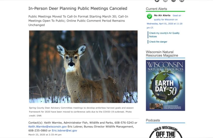 Bad Deer Regs